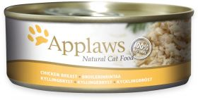 Applaws kissa kananrinta 156g - 24 purkkia
