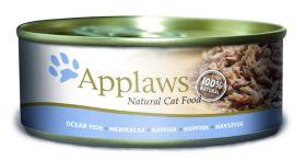 Applaws kissa merikala 156g - 24 purkkia