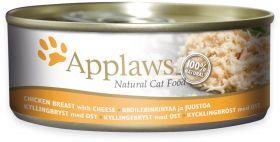 Applaws kissa kananrinta & juusto 156g - 24 purkkia