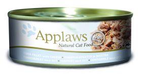 Applaws kissa tonnikalafile & juusto 156g - 24 purkkia
