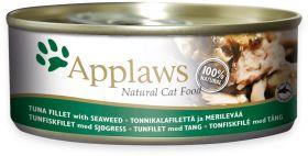 Applaws kissa tonnikalafile & merilevä 156g - 24 purkkia