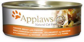 Applaws kissa kananrinta & kurpitsa 156g - 24 purkkia