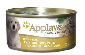 Applaws koira pentu kana 95g purkki - 12 kpl