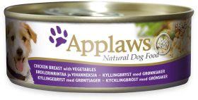 Applaws koira kana, vihannes & riisi 156g purkki - 12 kpl