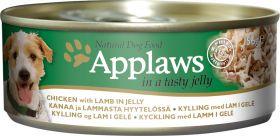 Applaws koira kana & lammas hyytelössä 156g - 16 kpl