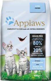 Applaws kissa kitten kuivamuona 400g - 6 säkkiä