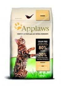 Applaws kissa adult kana kuivamuona 400g - 6 säkkiä
