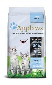 Applaws kissa kitten kuivamuona 2 kg - 3 säkkiä