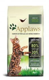 Applaws kissa adult kana & lammas kuivamuona 2 kg - 3 säkkiä