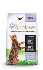 Applaws kissa adult kana & ankka kuivamuona 400g - 6 säkkiä