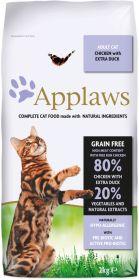 Applaws kissa adult kana & ankka kuivamuona 2kg - 3 säkkiä
