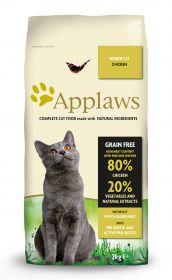 Applaws kissa senior kana kuivamuona 2kg - 3 säkkiä