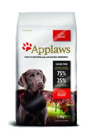 Applaws koira kana large breed Adult 7,5kg