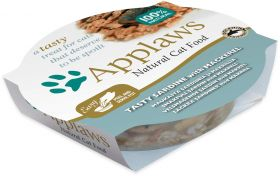 Applaws kissa sardiini & makrilli 60g - 10 purkkia