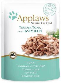 Applaws kissa tonnikalafile hyytelössä 70g - 16 pussia