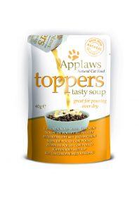 Applaws kissa Topper kanakeitto+kana 3x40g - 12 laatikkoa