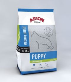 Arion Original Puppy Medium Kana & Riisi 12 kg