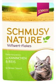 Schmusy Nature vollwert-Flakes kani & riisi 100g