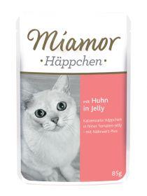 Miamor Häppchen kana 85g Jelly - 24 pussia