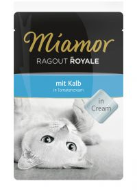 Miamor Ragout Royale in Cream vasikka 100g - 22 pussia