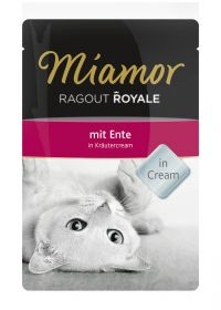 Miamor Ragout Royale in Cream ankka 100g - 22 pussia