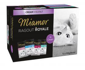Miamor Ragout Royale in Cream lajitelma 12x100g - 5 laatikkoa