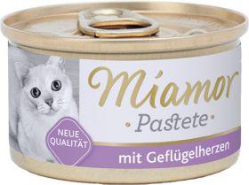 Miamor Pastete Siipikarjansydän 85g - 24 purkkia
