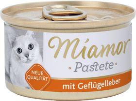 Miamor Pastete siipikarjanmaksa 85g - 24 purkkia