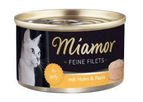 Miamor Fine Filets kana & pasta 100g - 24 purkkia