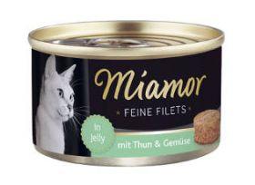 Miamor Fine Filets tonnikala & vihannes 100g - 24 purkkia