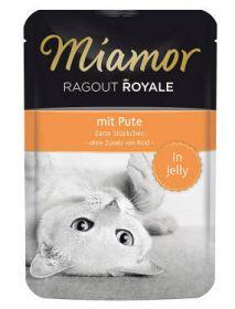 Miamor Ragout Royale Kalkkuna 100g Jelly - 22 pussia