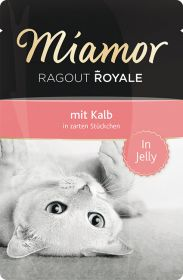 Miamor Ragout Royale vasikka 100g Jelly - 22 pussia
