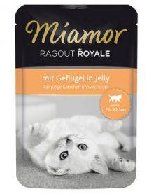 Miamor Ragout Royale Kitten siipikarja 100g - 22 pussia
