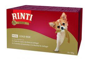 Rinti Mini GoldBox lajitelmapakkaus 8 x 100g folio - 4 pakettia