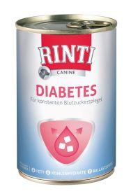 Rinti Canine Diabete - High Fibre 400g,verensokeri - 6 purkkia