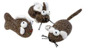Kissan lelu Socks, 3 erilaista - 3 kpl