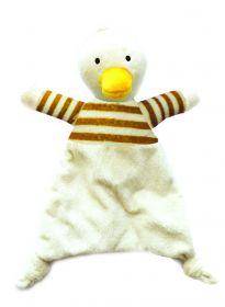 Snuggle Blankie Duck rapinalelu 30 x 19 x 8 cm