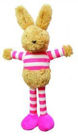Buster & Beau Bunny vinku-pupu pinkki 30 x 19 x 6 cm - 3 kpl