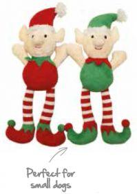 Joulu pehmolelu Joulupukin apulainen 27x14 cm