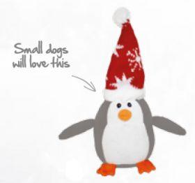 Joulu pehmolelu Pingviini 24x19 cm
