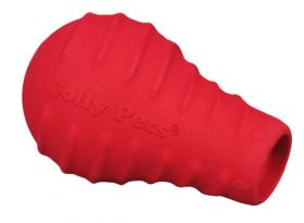 Jolly Tuff Toppler punainen pötkö 12cm herkkupiilo