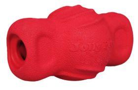 Jolly Tuff Teeter punainen pötkö 12cm herkkupiilo