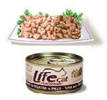 LifeCat Tonnikala & Kananmaksa 70g - 24 kpl