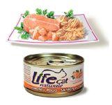 LifeCat Lohi & Kana (kananrintafile) 70g - 24 kpl