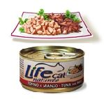 LifeCat Tonnikala & Nauta (vähärasvainen) 70g - 24 kpl