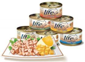 LifeCat Tonnikala & Juusto 70g - 24 kpl