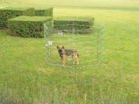 Savic koiran metallinen pentuaitaus 61 x 91 cm, 8 osaa