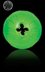 Aktiivipallo vihreä M/L n. 9 cm herkkupiilolla