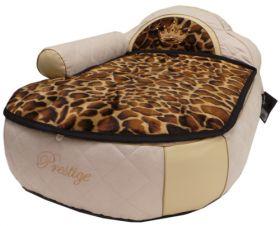 Koiran sohva kirahvi kuosilla 50 x 70cm, selkänoja