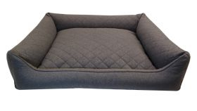 Reunapeti Sofa Modern 90 x 80 x 20 cm harmaa